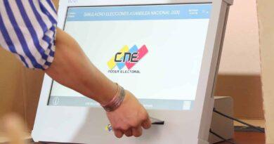 Venezuelan voting machine. File photo.
