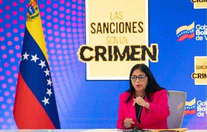Featured image: Venezuelan Vice President Delcy Rodriguez. Photo courtesy RedRadioVE.