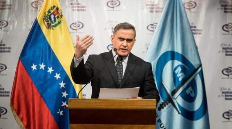 Venezuela's Attorney General, Tarek William Saab, during a press conference. File photo.