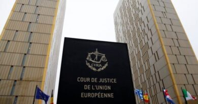 European Union's Court of Justice headquarters. File photo.