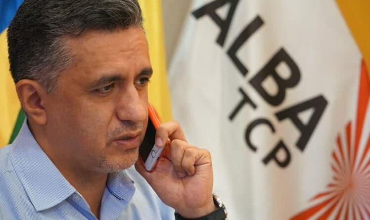 Sacha Llorenti, ALBA-TCP Secretary General. File photo.