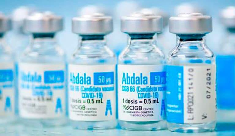 Cuba's Abdala vaccine has reported an efficacy above 92% in despite of US blockade. File photo.