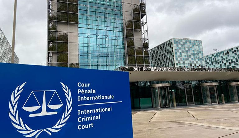 International Criminal Court headquarters in The Hague, Netherlands. File photo