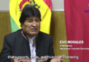 Evo Morales on China-Bolivia Cooperation and the Nature of Chinese Policy (Video)