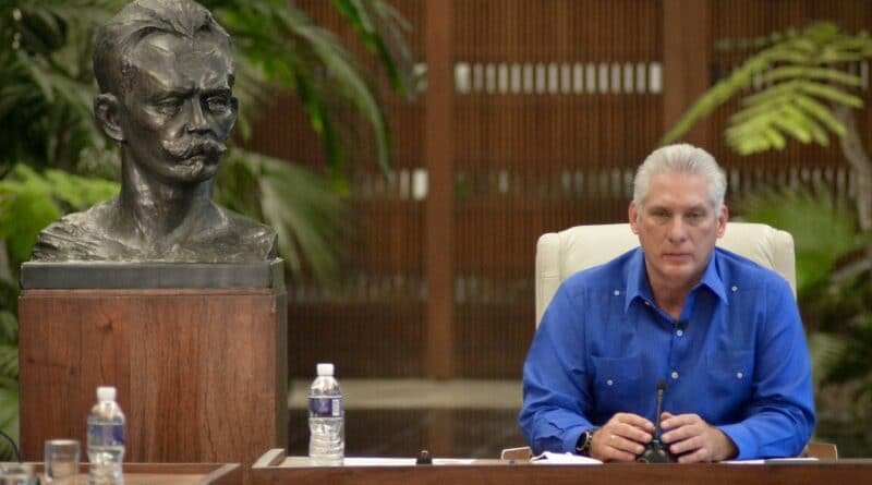 Cuban President Miguel Diaz-Canel. Photo: Presidency of Cuba