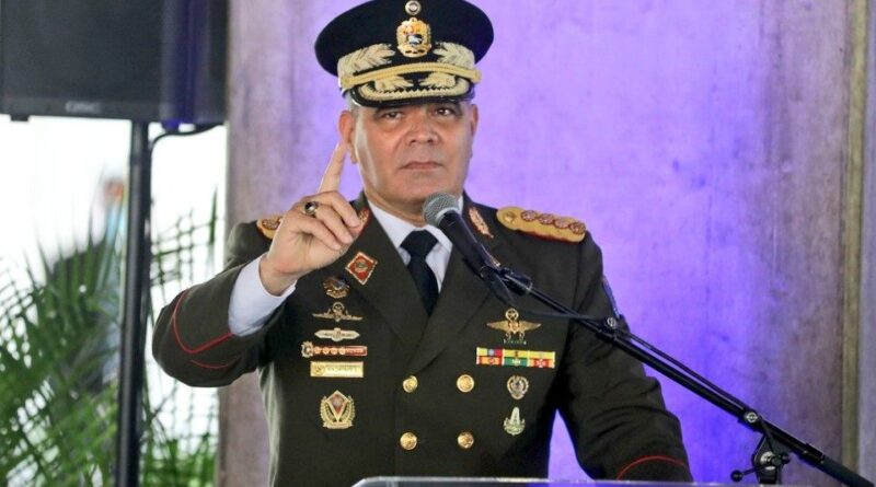 Venezuelan Minister for Defense, Vladimir Padrino Lopez. Photo courtesy of Tal Cual.