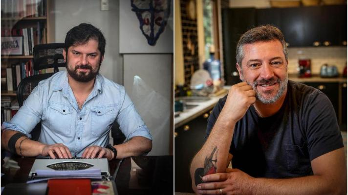 Gabriel Boric (left) and Sebastian Sichel (right) will be the candidates who will stand in the presidential elections on November 21 in Chile (Photo: La Cuarta)