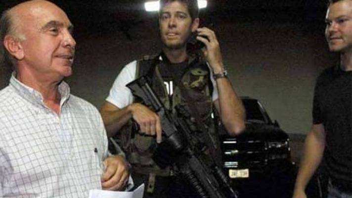 Peréz Recao, the same man who was denounced for supplying arms to Carmona Estanga in the 2002 coup, is once again accused of supplying arms to criminal gangs in Caracas (Photo: Archive)