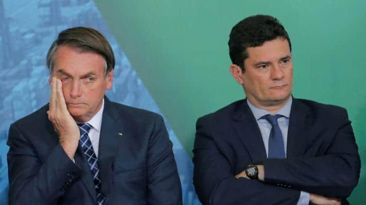 Jair Bolsonaro benefited from Operation Lava Jato, led by Sergio Moro (Photo: Adriano Machado / Reuters)