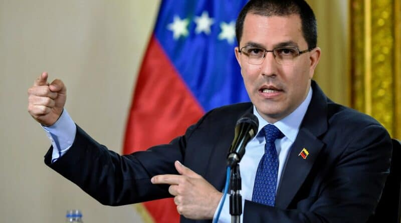 Venezuela's Minister for Foreign Affairs Jorge Arreaza. File photo.