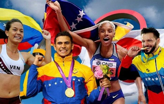 Venezuela has 44 athletes qualified for the Tokyo Olympics and some of them hare real chances of winning a gold medal. File photo.