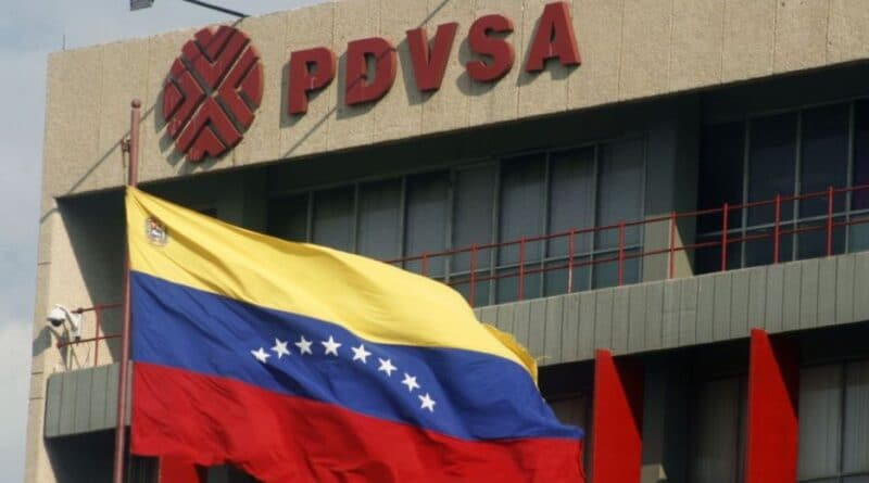 PDVSA building. File photo courtesy of Getty Images.