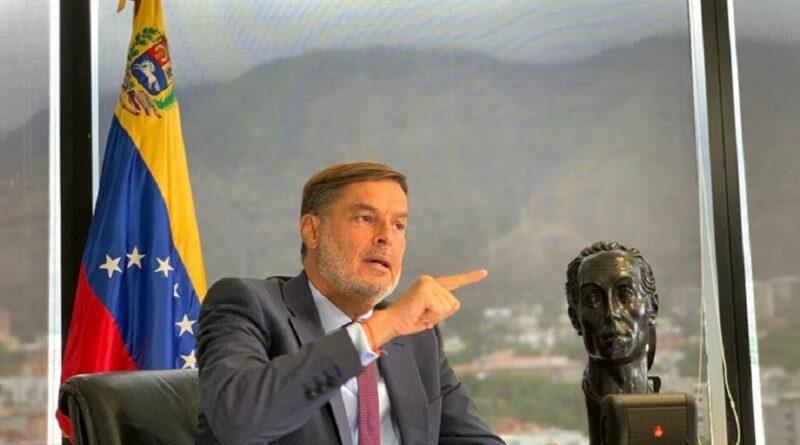 New Venezuelan Foreign Affairs Minister Felix Plasencia. File photo