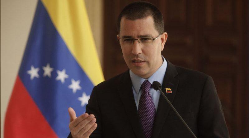 Venezuelan Minister for Foreign Affairs, Jorge Arreaza. File photo.