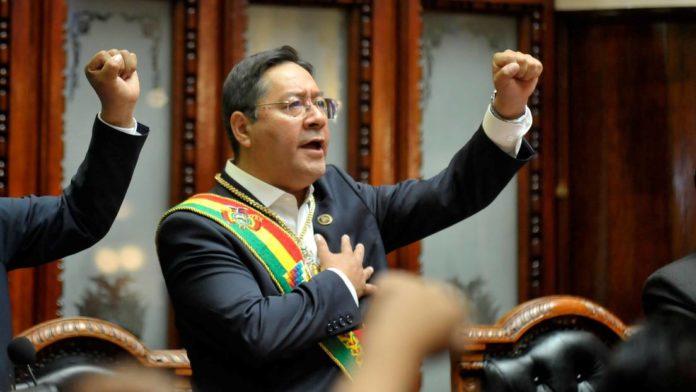 Bolivian President Luis Arce. File photo.