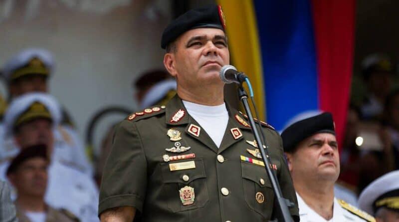 Venezuelan minister for defense Vladimir Padrino. File photo.
