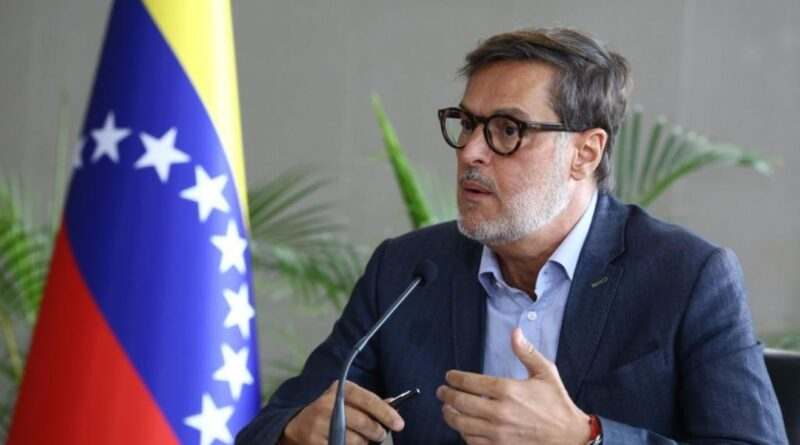 Recently appointed new Venezuelan Foreign Affairs Minister, Felix Plasencia. File photo.