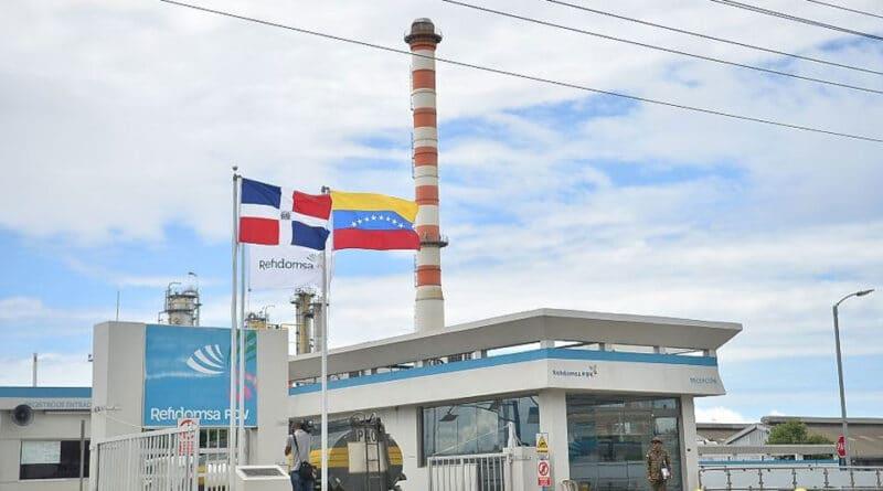 Refidomsa refinery in Dominican Republic. File photo.