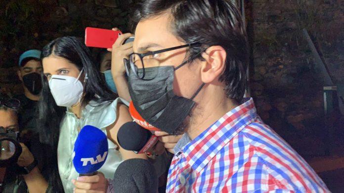 Anti-Chavista politician Freddy Guevara. Photo courtesy of RedRadioVE.