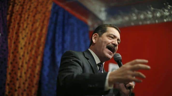 """Jesús """"Chuy"""" García and other Democratic congressmen called for a new US policy toward Venezuela by moving away from the """"maximum pressure"""" campaign and violent destabilization efforts (Photo: Jim Young / Reuters)."""