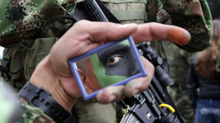 The number of testimonies that confirm the involvement of the Colombian State in paramilitary crimes is expanded (Photo: Mauricio Dueñas / EFE).
