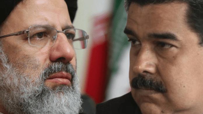 New Iranian President Ebrahim Raisi and President Nicolas Maduro of Venezuela. Photo courtesy of RedRadioVE.