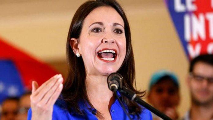 Venezuelan extreme righ politician Maria Corina Machado. File photo.