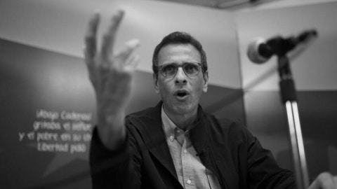Anti-chavista Henrique Capriles. File photo.