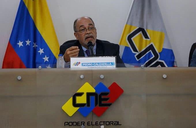 Venezuela's CNE President Pedro Calzadilla. File photo courtesy of CNE.