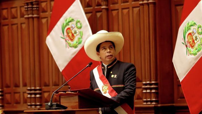 Pedro Castillo, new president of Peru (Photo: Reuters)