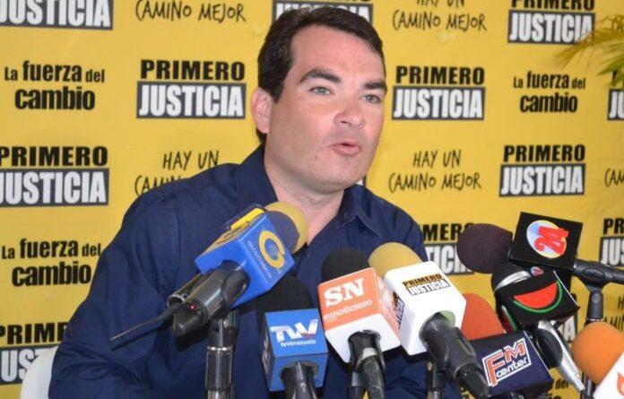 Anti-Chavista politician Tomás Guanipa. File photo.