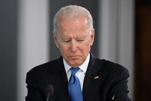 US president Joe Biden. File photo.