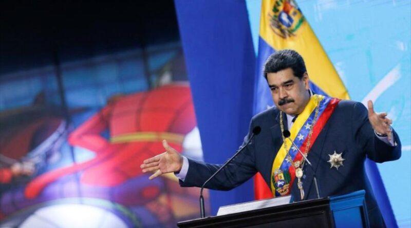 President of Venezuela, Nicolás Maduro, at a ceremony in Caracas, the capital, January 22, 2021. (Photo: Reuters).