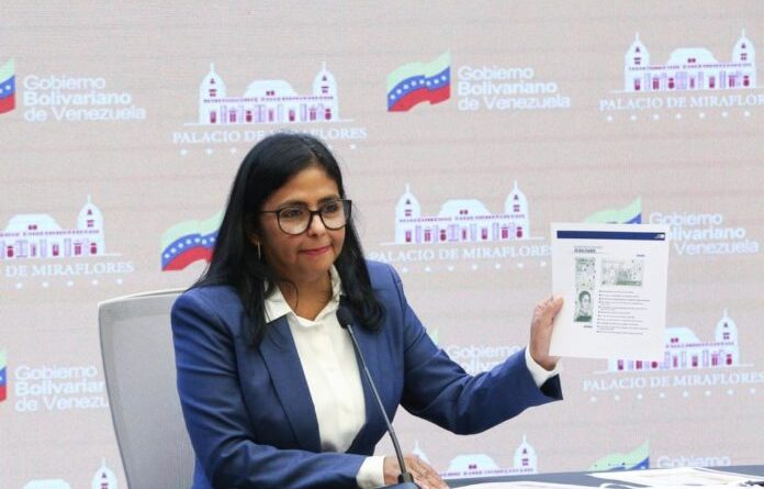 Venezuelan Vice President Delcy Rodriguez. Photo courtesy of the Vice Presidency Office.