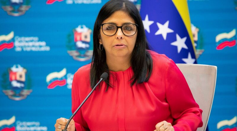 Venezuelan Vice President Delcy Rodriguez. File photo.