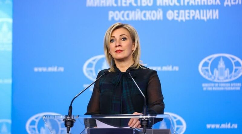 Maria Zakharova spokesperson for the Russian Ministry for Foreign Affairs. File photo.