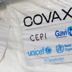 Shipment of anticovid-19 vaccines with a COVAX sticker. File photo.