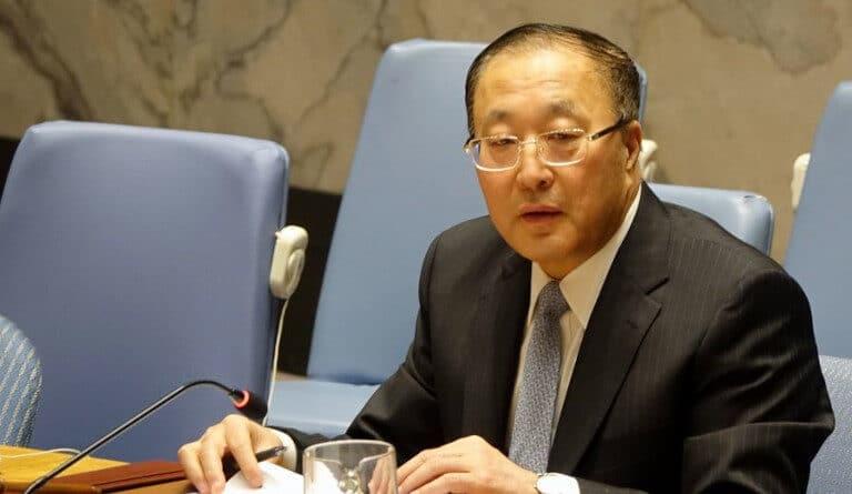 China's permanent representative to the United Nations, Zhang Jun. Photo: Xinhua