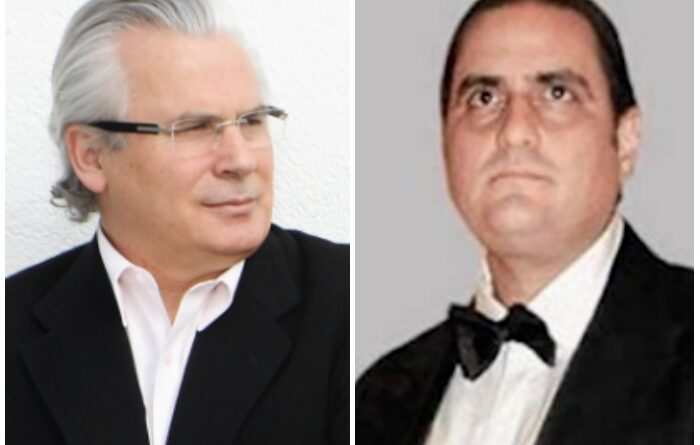 Baltasar Garzon and Venezuelan diplomat Alex Saab. File photo.