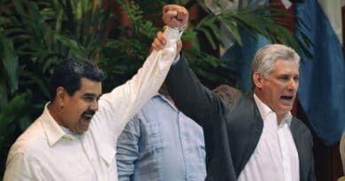 Maduro and Díaz-Canel in Mexico