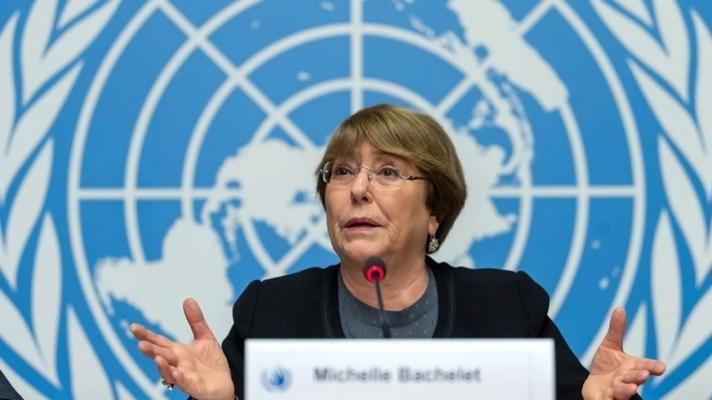 UN High Commissioner for Human Rights, Michelle Bachelet (Photo: Martial Trezzini / EPA).