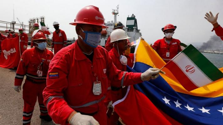 Despite the blockade, Iran and Venezuela achieve exchanges in the oil industry (Photo: AP).