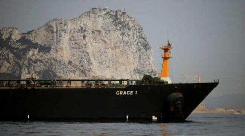 Featured image: Iranian supertanker Grace 1. (Source: IRNA).