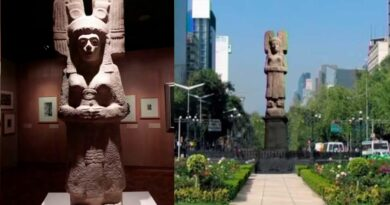 Amajac Woman to Replace Columbus Statue in Mexico City