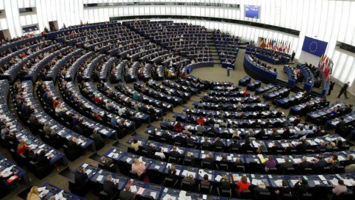 Europarlament floor. File photo.