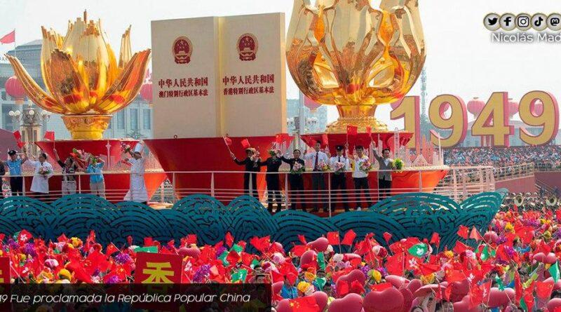 China's 72 anniversary parade. Photo courtesy of Twitter / @nicolasmaduro.