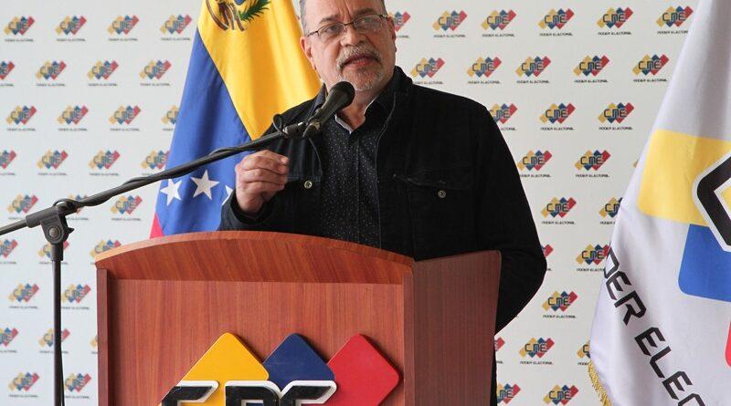 CNE's president Pedro Calzadilla. File photo.