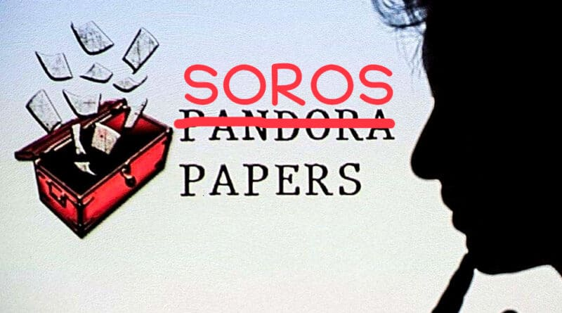 Pandora Papers or Soros Papers? Photo composition by Orinoco Tribune.
