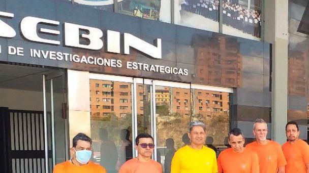 The so called CITGO 6. Venezuelan born citizens sentenced for embezzlement while working as top ranked executives of CITGO. File photo.