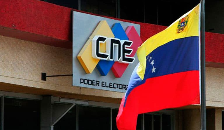 Venezuela's National Electoral Council (CNE) headquarters. File photo.
